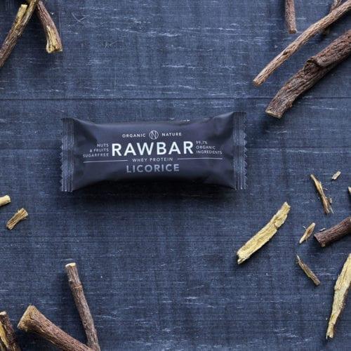 rawbar licorice, Lakrids, proteinbar, proteinbar, rawbar, veganbar wheybar, økologisk snack