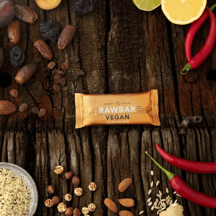Vegan rawbar cocoa - orange