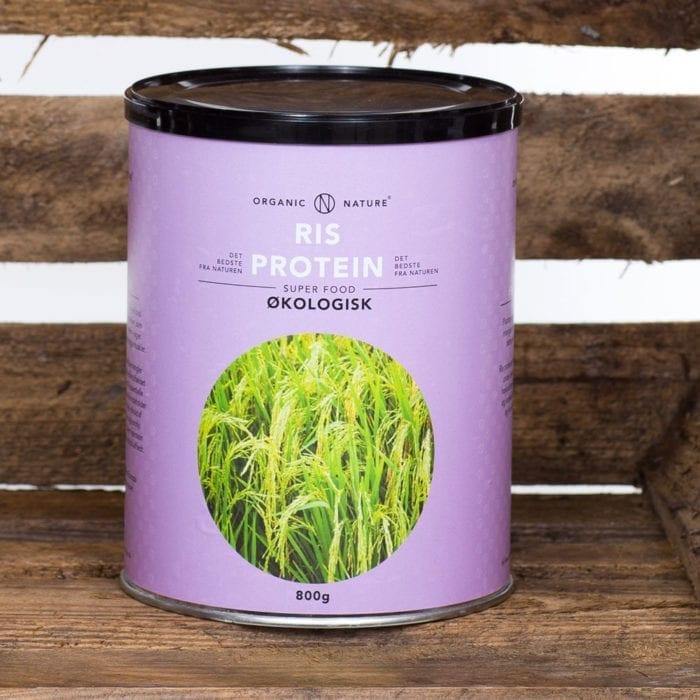 Økologisk risprotein, proteinpulver